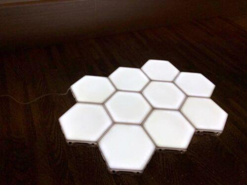 Komplet šestih magnetnih LED lučk photo review
