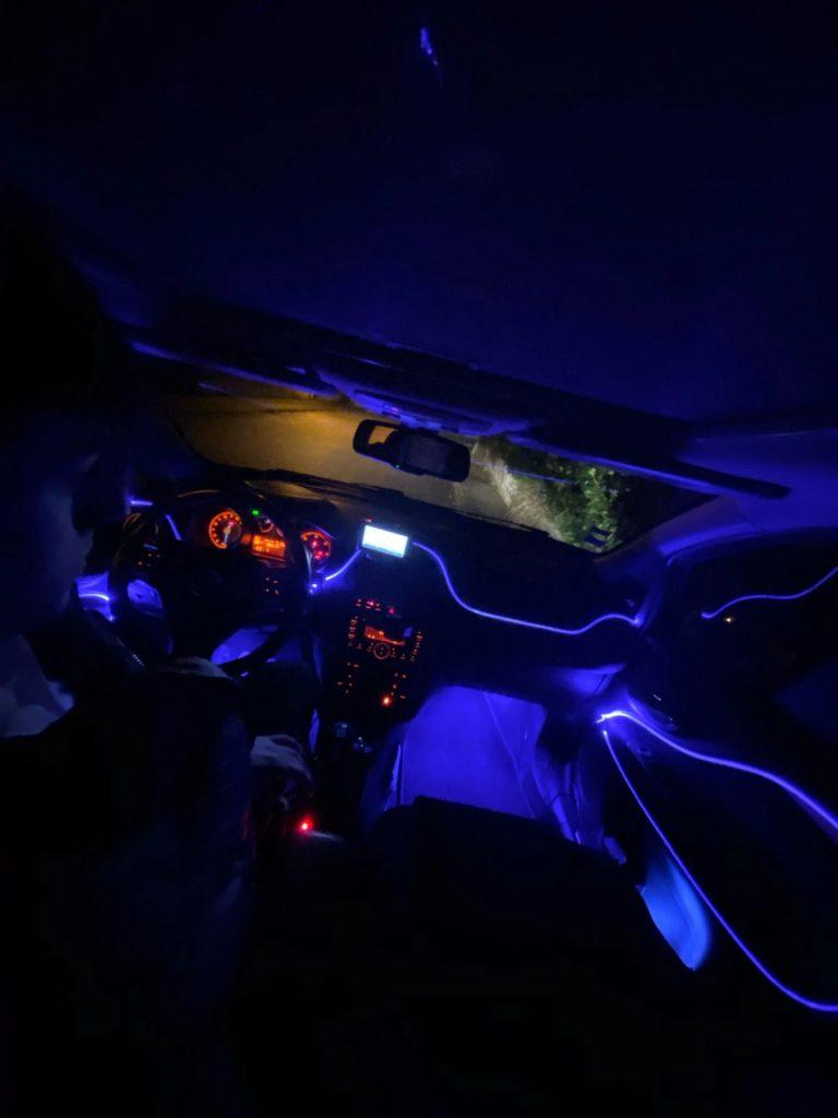 Vodoodporen LED trak za osvetlitev armaturne plošče AUTOLED photo review