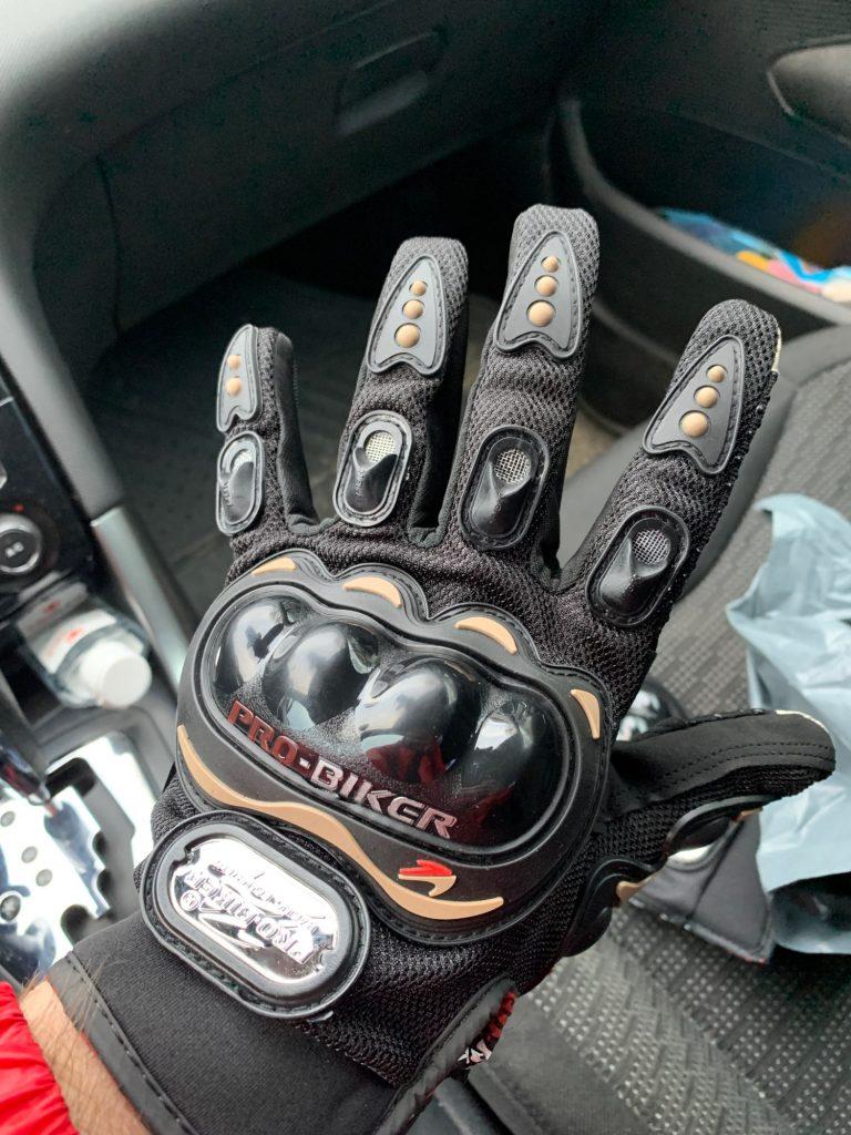 Rokavice Pro Biker photo review