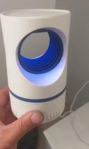 UV lučka proti komarjem MosquitoLamp photo review