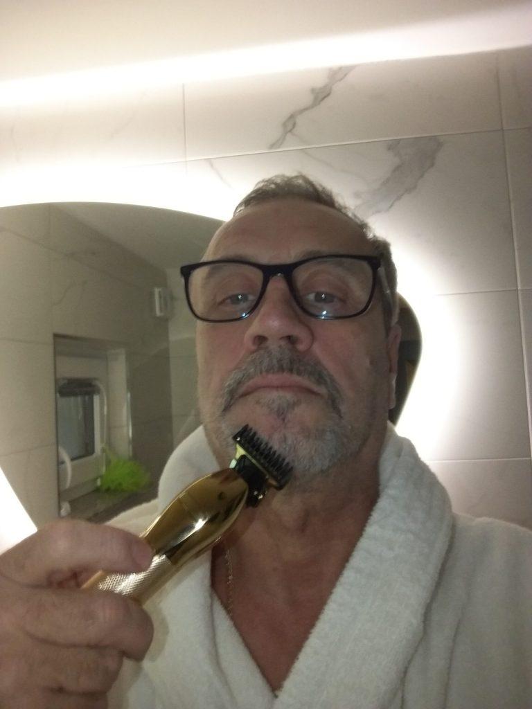 Profesionalni prirezovalnik las in brade GOLDCUT photo review