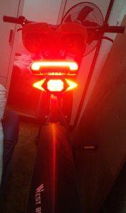 Smernik za kolesa Flashlight photo review
