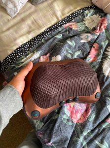 Toplotni masažni aparat za sproščanje napetosti v mišicah U-MASAGGER RELAX photo review