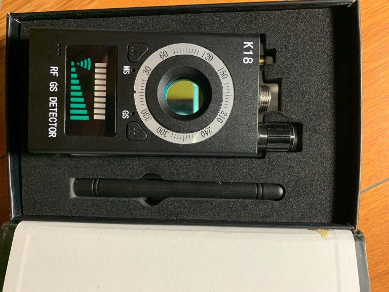 Detektor skritih kamer Quick Detect photo review